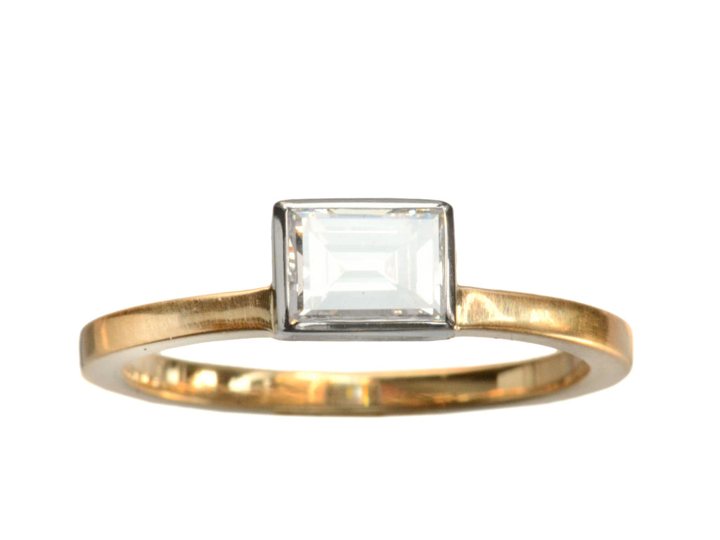 EB 0.58ct Rectangular Diamond Ring