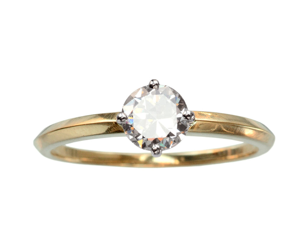 EB 0.61ct Round Diamond Solitaire Engagement Ring