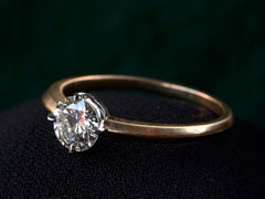 EB 0.62ct Round Diamond Solitaire Engagement Ring