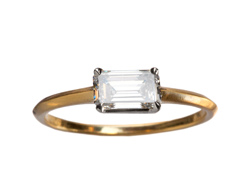 EB 0.64ct Emerald Cut Diamond Ring