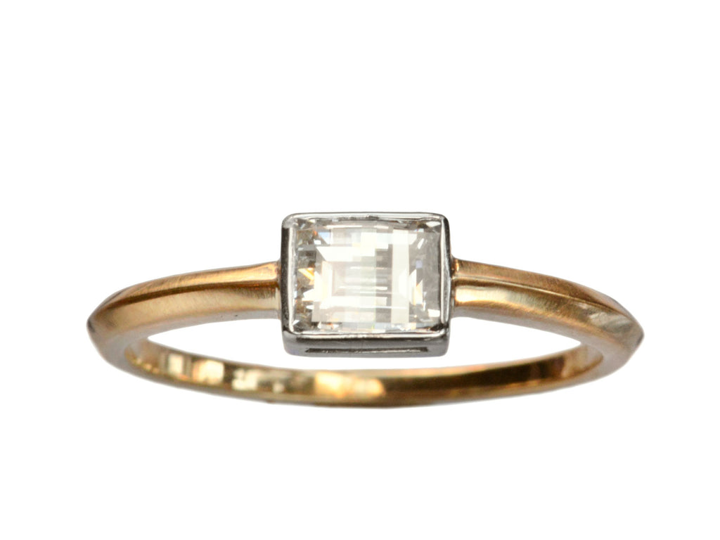 EB 0.65ct Bent-Top Diamond Ring