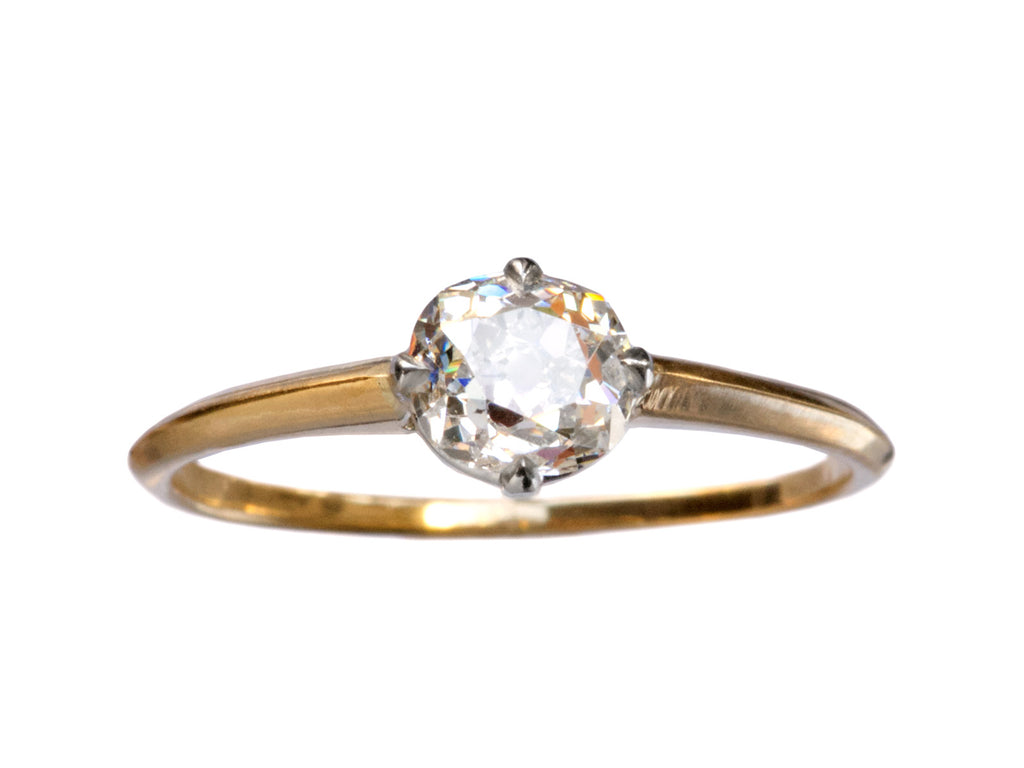 EB 0.65ct Old Mine Cut Diamond Ring