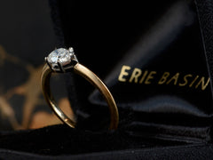 EB 0.65ct Pear Diamond Engagement Ring