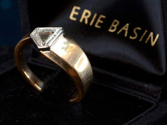 EB 0.70ct Shield Ring