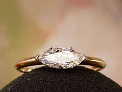 EB 0.72ct East-West Marquise Diamond Ring