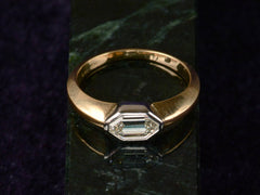 EB 0.72ct Diamond Signet Ring
