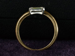 EB 0.73ct Emerald Cut Ring