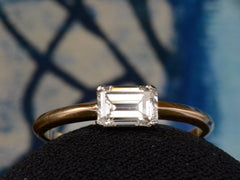 EB 0.74ct Emerald Cut Ring