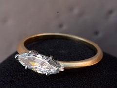 EB 0.74ct Marquise Diamond Engagement Ring
