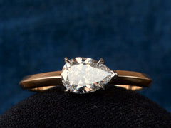 EB 0.74ct Pear Diamond Engagement Ring