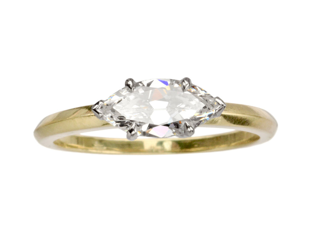 EB 0.78ct Marquise Diamond Ring