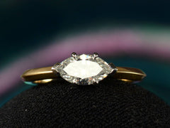 EB 0.85ct Marquise Diamond Ring