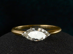 EB 0.87ct Marquise Diamond Ring
