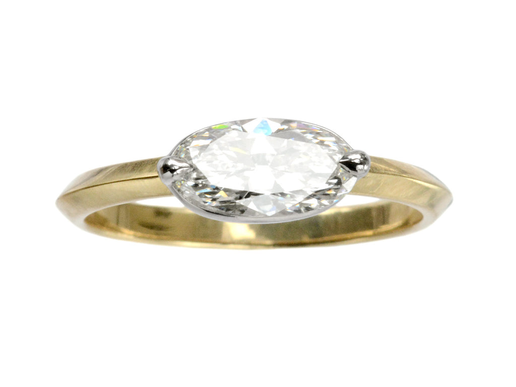 EB Two-Prong 0.89ct Oval Ring