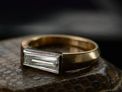 EB 0.90ct Asymmetrical Baguette Ring