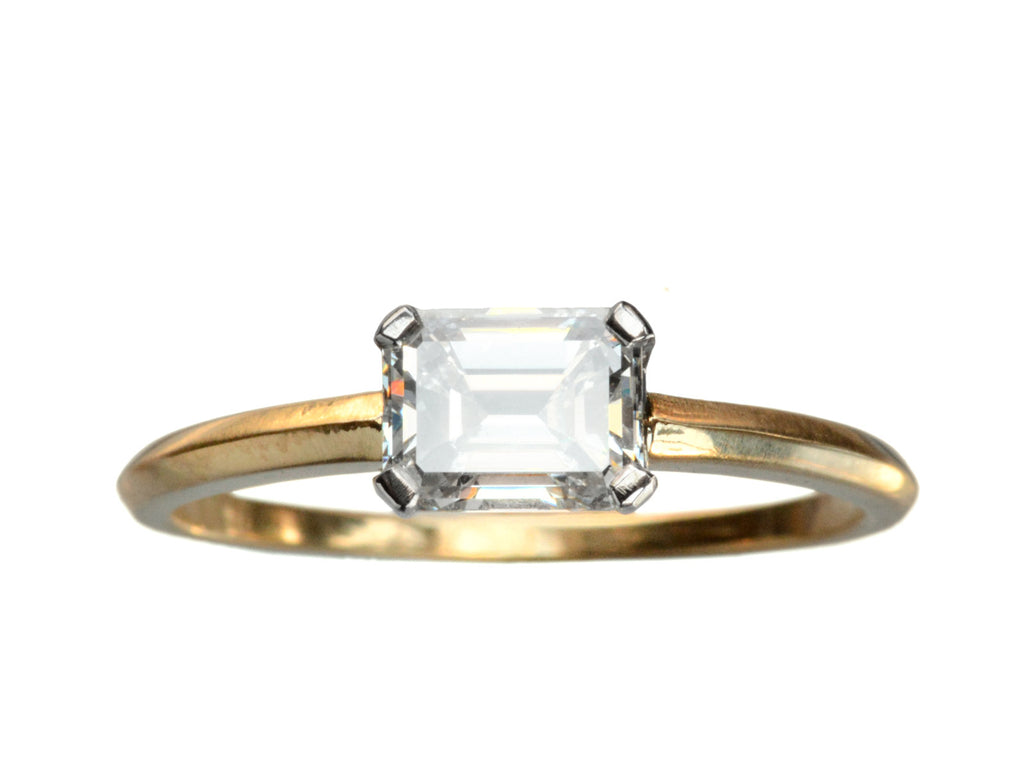 EB 0.91ct Emerald Cut Diamond