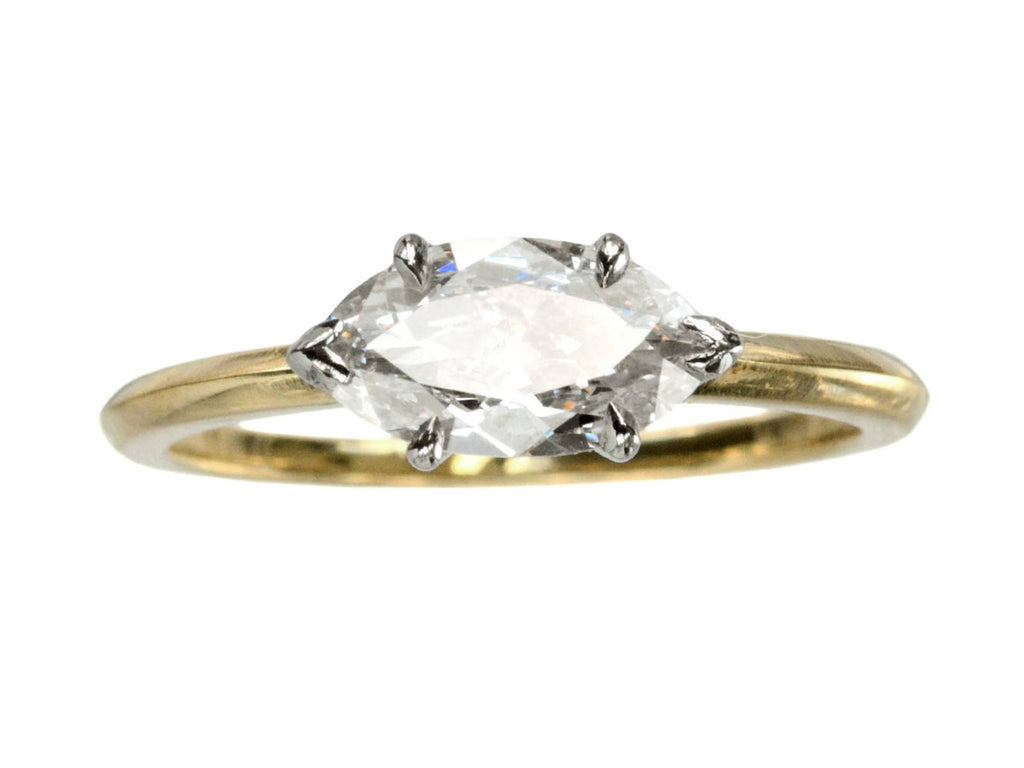 EB 0.91ct Marquise Diamond Ring