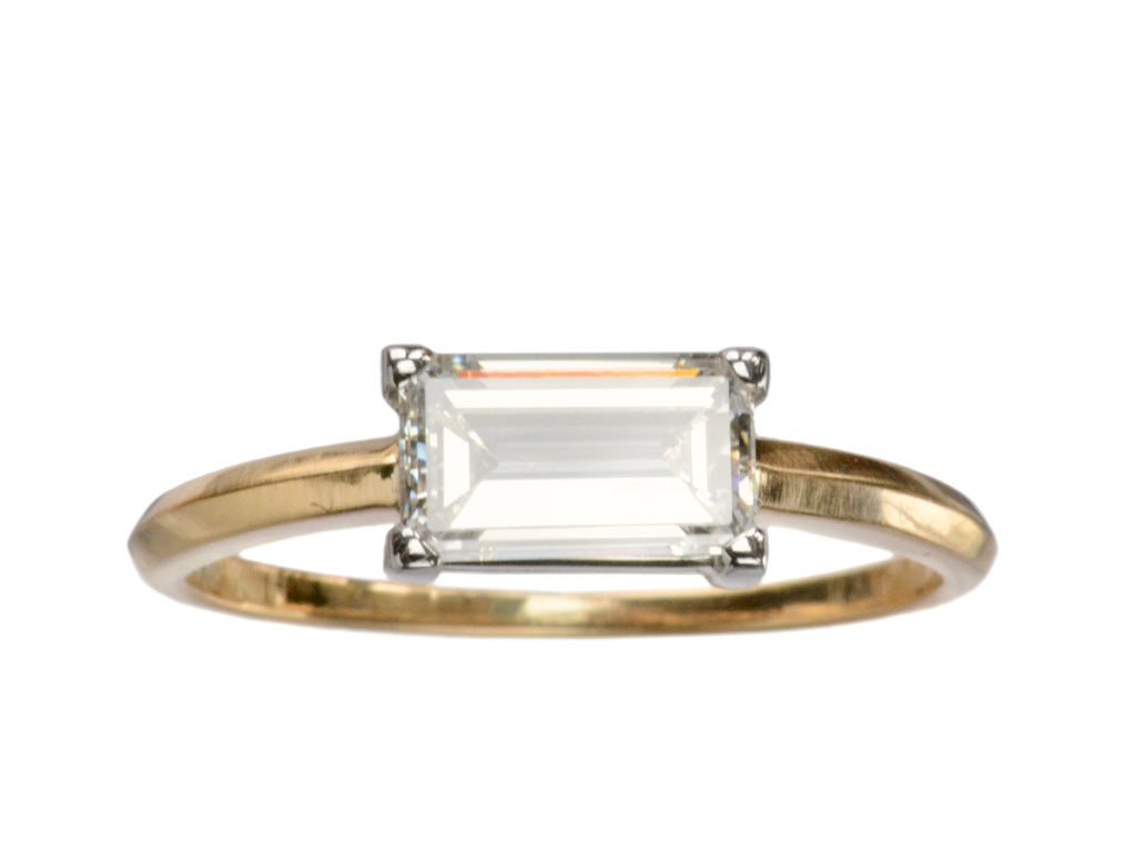 EB 0.93ct Emerald Cut Ring