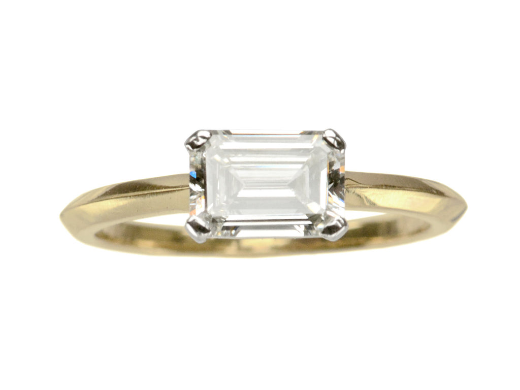 EB 0.94ct Emerald Cut Ring