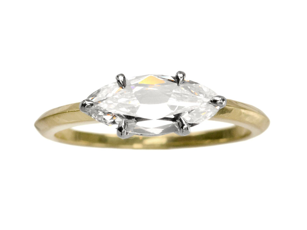 EB 0.96ct East-West Marquise Ring