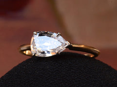 EB 1.02ct Pear Diamond Ring