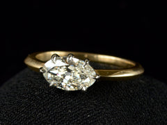 EB 1.07ct Oval Diamond Ring