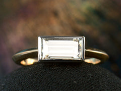 EB 1.15ct Rectangular Ring