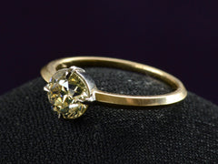 EB 1.18ct Olive Diamond Ring