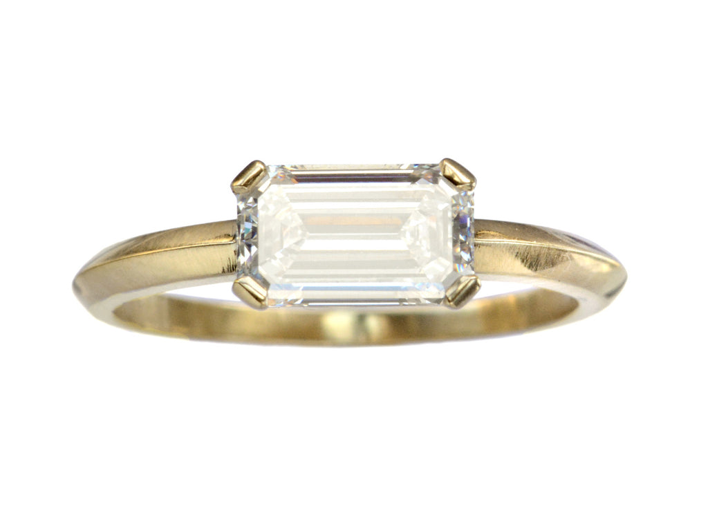 EB 1.23ct Emerald Cut Ring