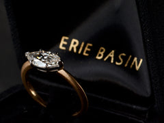 EB East-West 1.25ct Marquise Cut Diamond Engagement Ring