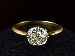 EB 1.27ct Old Mine Ring