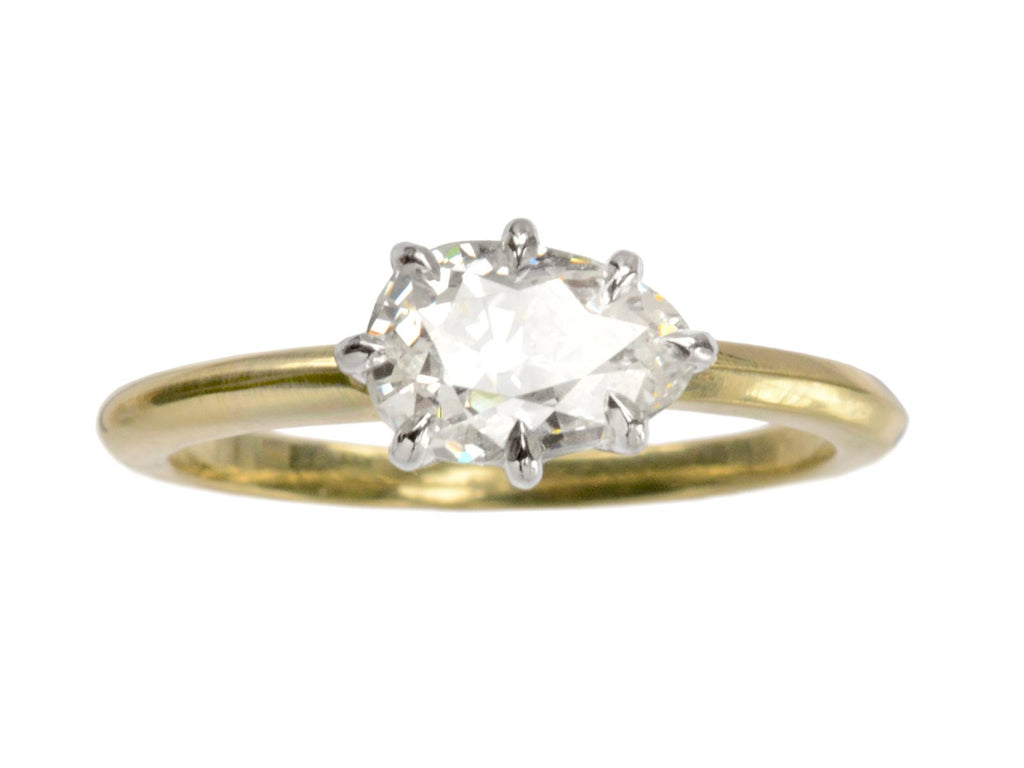 EB 1.31ct Pear Diamond Ring