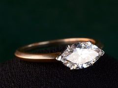 EB East-West 1.35ct Marquise Diamond Engagement Ring