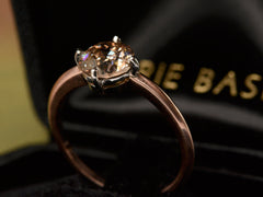 EB 1.41ct Light-Brown Diamond Ring