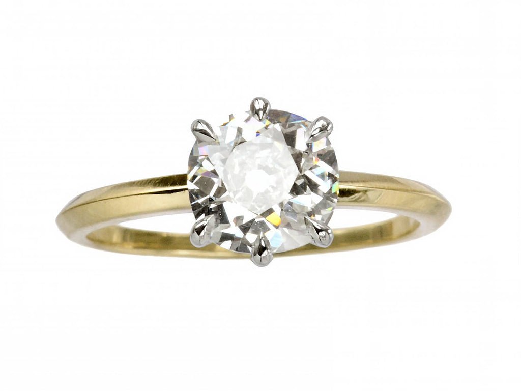 EB 1.45ct Old Mine Cut Ring