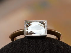 EB East-West 1.51ct Rectangular Diamond Engagement Ring