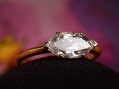 EB 1.51ct East-West Marquise Diamond Ring