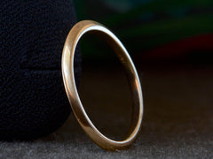 EB Knife Edge Wedding Band