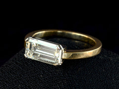EB 1.84ct Emerald Cut Ring
