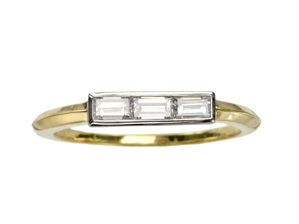 EB Triple Baguette Ring