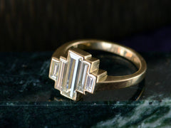 EB Asymmetrical Diamond Tier Ring