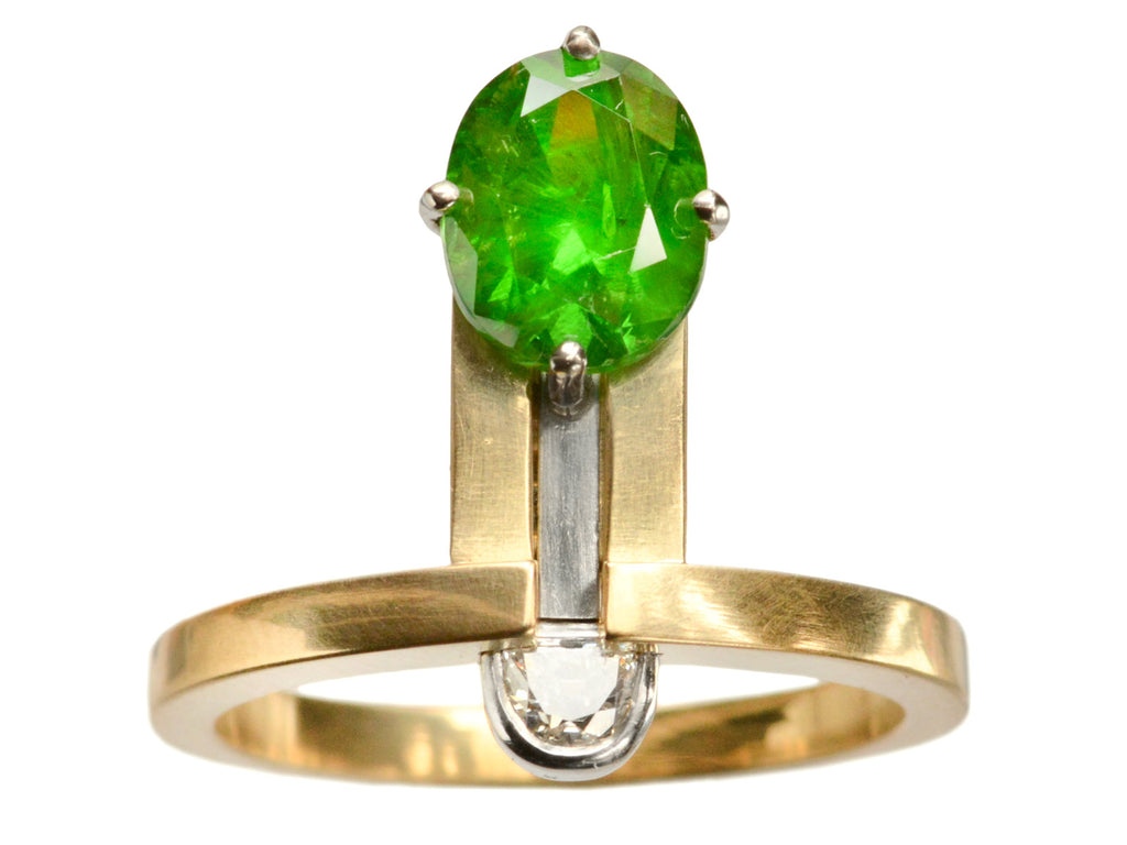 EB Demantoid Garnet Ring