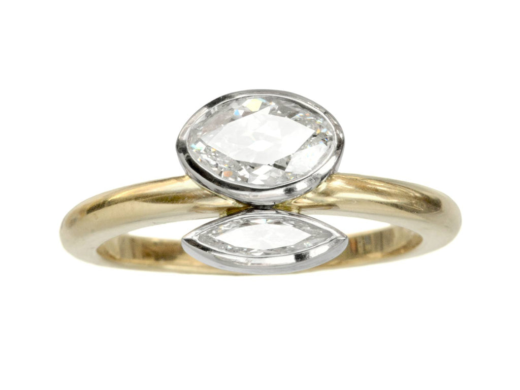 EB Double Marquise Ring