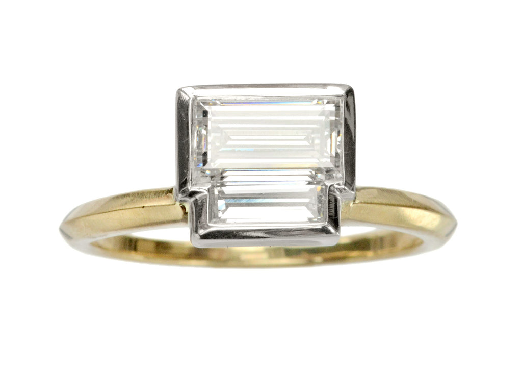 EB Double Rectangle Ring