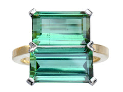 EB Double Tourmaline Ring