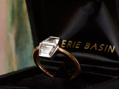 EB Double Trapezoid Diamond Ring