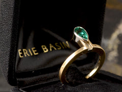 EB Emerald Cobra Ring