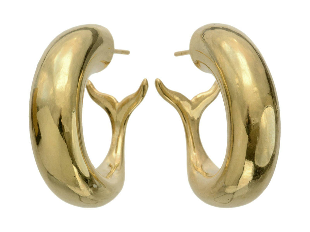 EB Marine Hoop Earrings