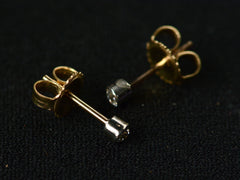 EB Small European Cut Diamond Studs