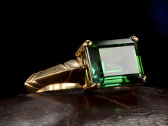 EB Rectangular Tourmaline Ring
